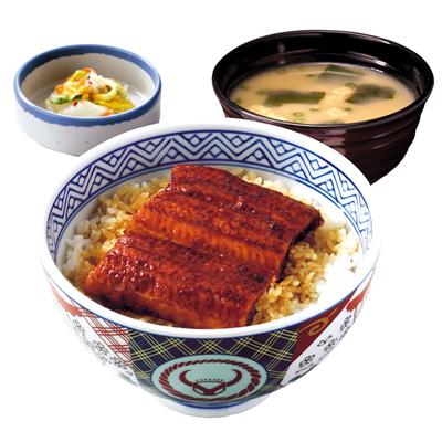 吉野家、期間限定で「鰻丼」販売...